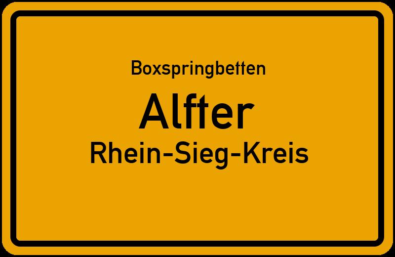 Boxspringbetten Alfter - Rhein-Sieg-Kreis