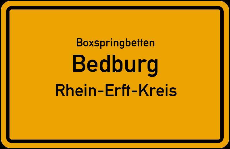 Boxspringbetten Bedburg - Rhein-Erft-Kreis