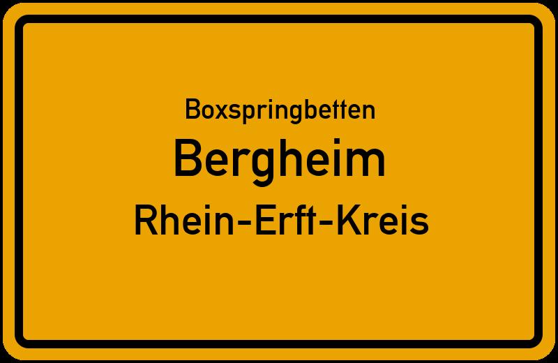 Boxspringbetten Bergheim - Rhein-Erft-Kreis