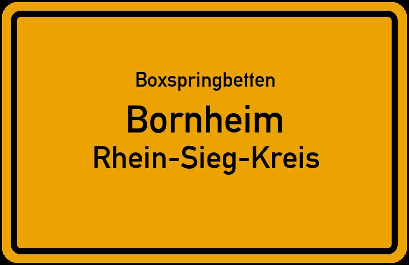 Boxspringbetten Bornheim - Rhein-Sieg-Kreis