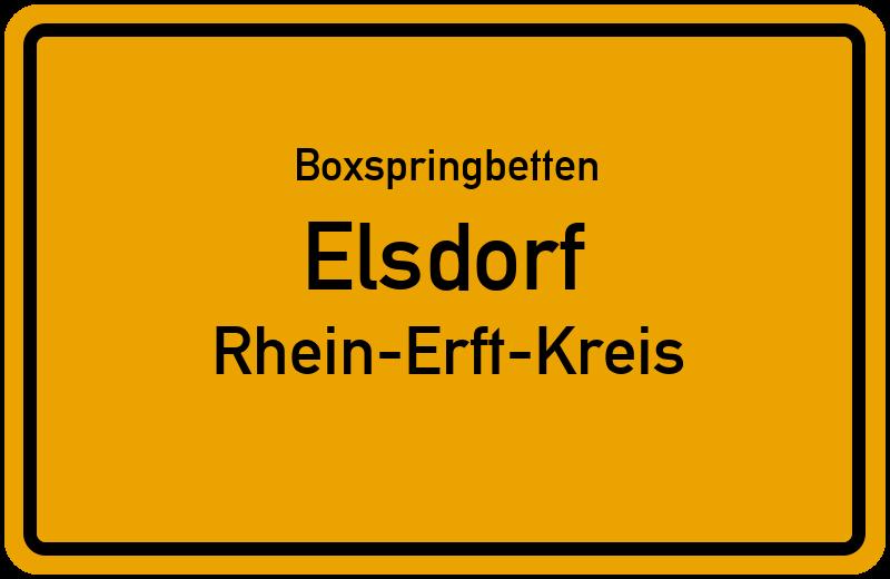 Boxspringbetten Elsdorf - Rhein-Erft-Kreis