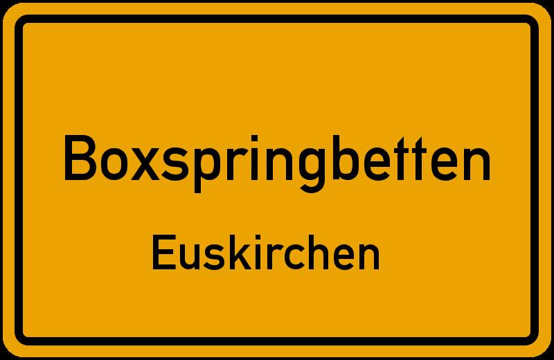 Boxspringbetten Euskirchen - Kreis Euskirchen