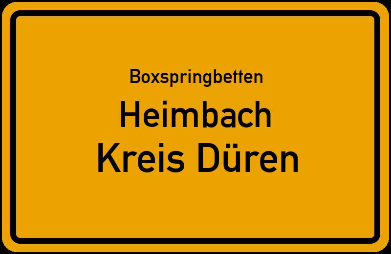 Boxspringbetten Heimbach - Kreis Düren