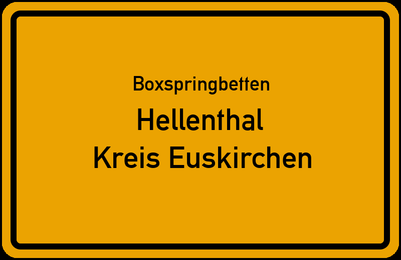 Boxspringbetten Hellenthal - Kreis Euskirchen