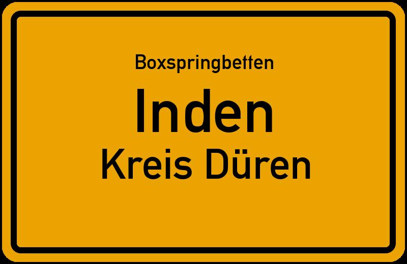 Boxspringbetten Inden - Kreis Düren
