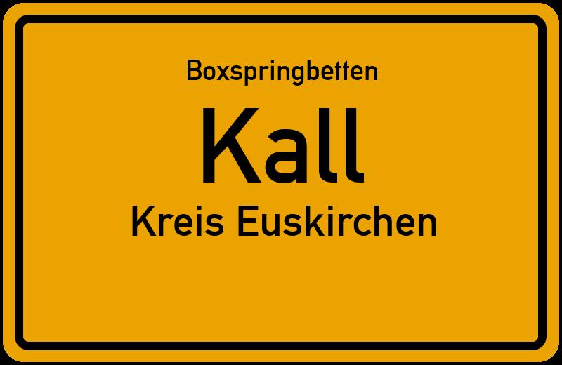Boxspringbetten Kall - Kreis Euskirchen