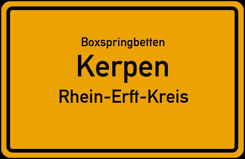 Boxspringbetten Kerpen - Rhein-Erft-Kreis