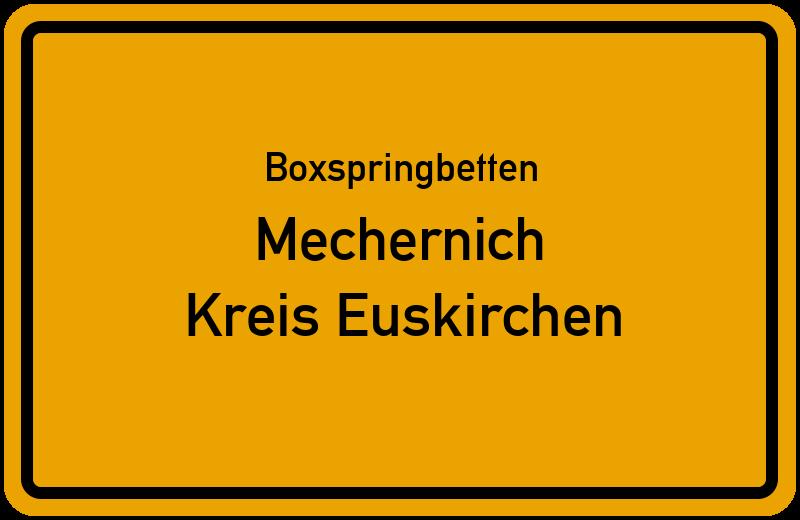 Boxspringbetten Mechernich - Kreis Euskirchen