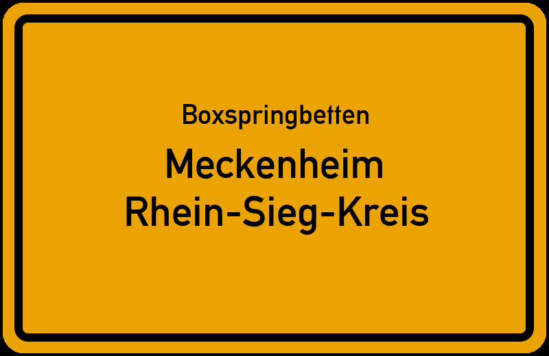 Boxspringbetten Meckenheim - Rhein-Sieg-Kreis