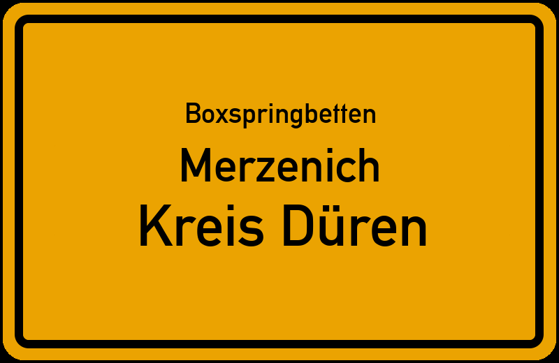 Boxspringbetten Merzenich - Kreis Düren