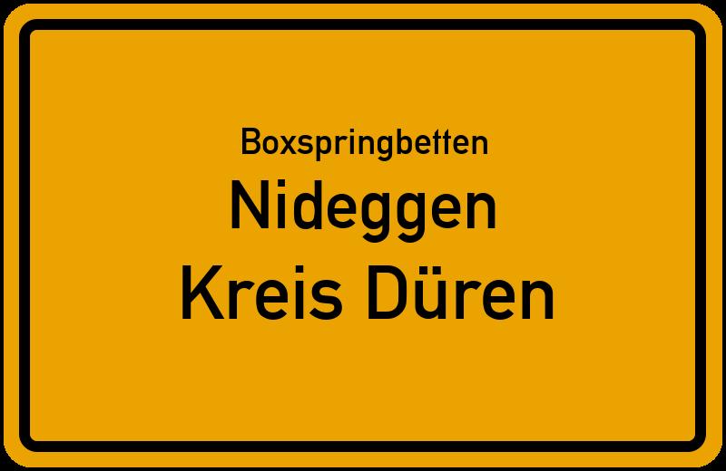 Boxspringbetten Nideggen - Kreis Düren