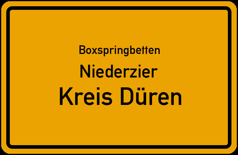 Boxspringbetten Niederzier - Kreis Düren