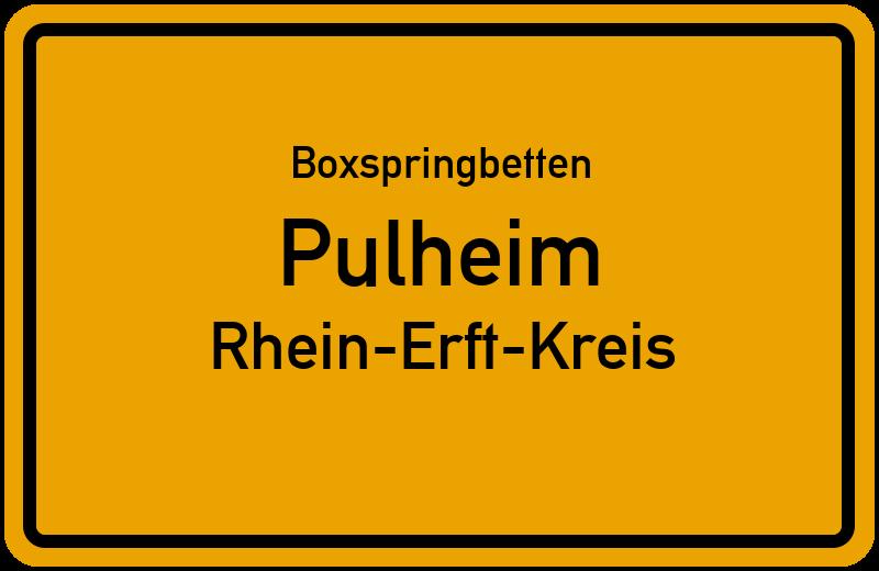 Boxspringbetten Pulheim - Rhein-Erft-Kreis