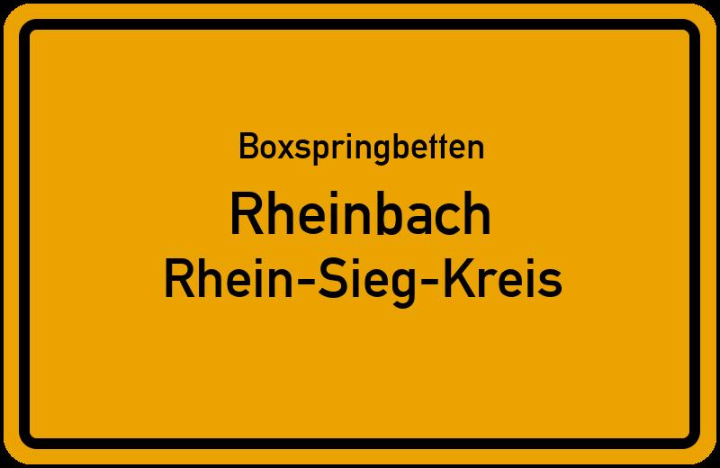 Boxspringbetten Rheinbach - Rhein-Sieg-Kreis