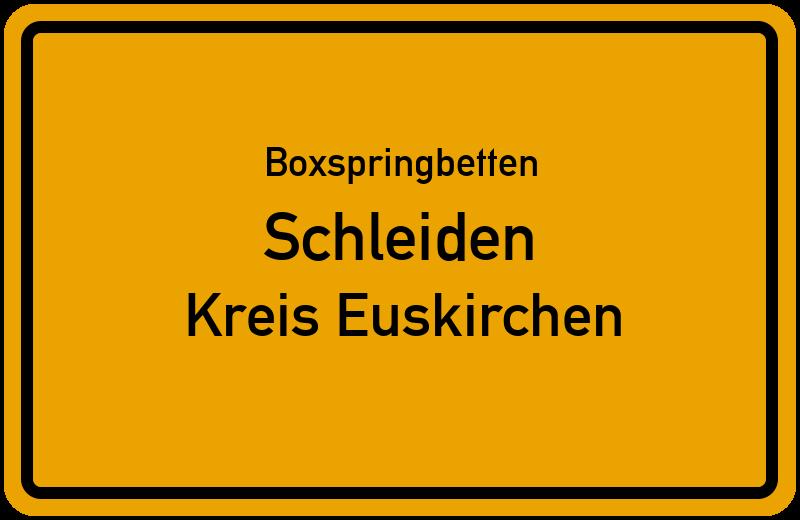 Boxspringbetten Schleiden - Kreis Euskirchen