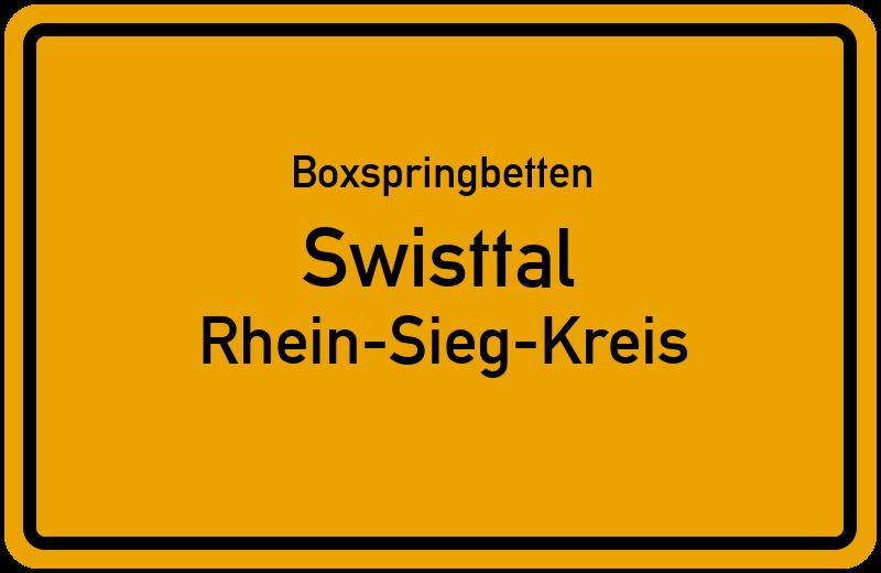 Boxspringbetten Swisttal - Rhein-Sieg-Kreis