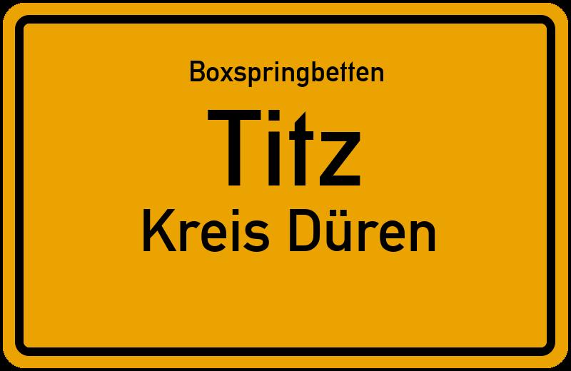 Boxspringbetten Titz - Kreis Düren