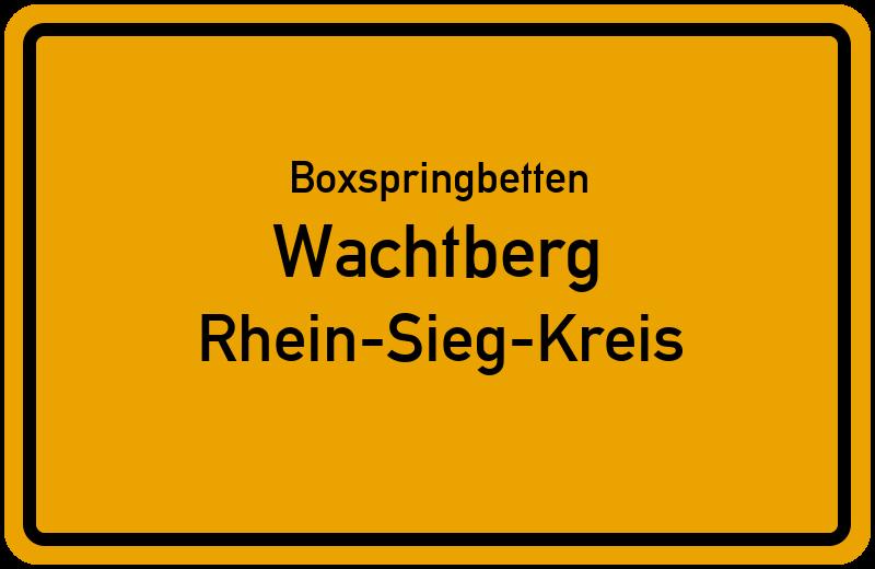 Boxspringbetten Wachtberg - Rhein-Sieg-Kreis